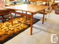 MID CENTURY MODERN TEAK COFFEE TABLE AT BARCLAY'S