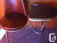 Vintage 60's telephone table in great shape. Seat