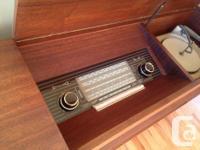 Stunningly beautiful German teak console circa1963.