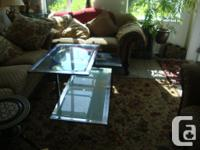 Middle Glass Table . pick up from 34 Ave. with 152 St.