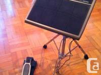 Alesis Control Pad w. Pedals Roland Snare Stand with