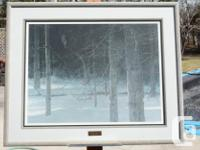 FRAMED limited edition print #1711/25352, signed by