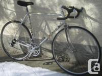 Miele - light weight, tall frame road bike with 700c