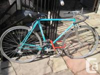 BEAUTIFUL TEAL MIELE UNO MS Road Issue Bike Made in