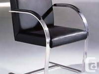 The Mies van der Rohe designed BRNO Dining Chair or