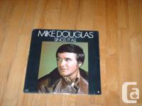 Mike Douglas Sings It All. LP. New. In original