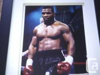 Autographed 8x10 photo of Mike Tyson for sale.  This is