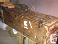 Have for sale a military storage box, plan was to make
