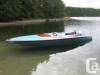 1976 19 ft Miller Bubbledeck ski Jet boat.This is not a