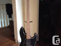 For sale. MIM fender jazz bass. Kinda. For those who