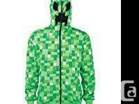 Minecraft Creeper Hoody by Jinx. Brand New (never worn)