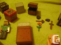 For the Minecraft Lover: 23 piece Minecraft mini