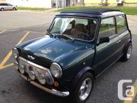 British Open Classic Mini Austin for Sale:  1.3L Fuel