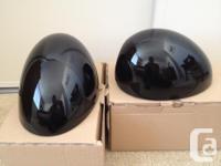 Mini Cooper Cooper S Mirror Covers, Factory OEM : Black