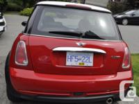 Make Mini Model Cooper Year 2005 Colour red kms 86000