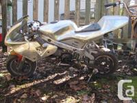 Dirt bike style and racing style mini motor bikes