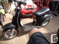This mini scooter is running good Has new batteries