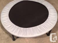Mini trampoline for sale, great condition. Put this in