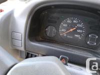 Make Subaru Year 1993 Colour White Trans Manual kms