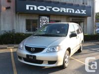 Make Mazda Model MPV Year 2003 Colour Brown kms 217000