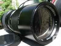 Up for sale is a very nice FOCAL Minolta MD Mount Auto