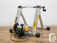 Minoura's top of the line tire drive trainer. A