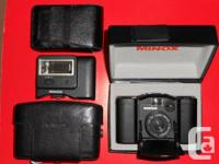 Minox 35GL in ideal functioning order and also near
