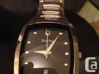 Mint Condition Bulova Men's Watch.  Received as a gift