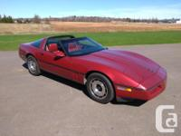 Make Chevrolet Model Corvette Year 1984 Colour Red kms