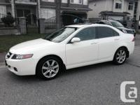 2004 Acura TSX fully loaded -  No accidents, 4 Cylinder