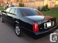 Hi there, I'm selling my 2004 Cadillac Deville.   -