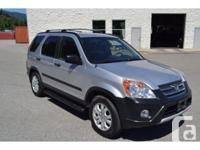 Colour silver Trans Automatic kms 105000 2006 Honda Crv