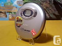 MINT & BARELY USED ~ Sony D-EJ616CK CD Discman Walkman for sale  British Columbia