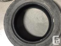 For sale used in mint condition 1 All Season Tire