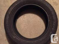 For sale used in mint Condition 2 tires all seasons