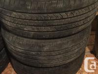 For sale used in mint Condition 3 All Seasons Tires