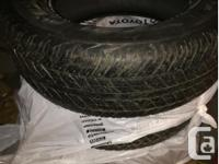For sale used in mint condition 4 Tires Grandtrek