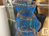 Crab Trap Crawfish Lobster Shrimp Collapsible Cast Net
