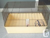 Mint Condition Medium Rabbit Cage, Small Animal, Guinea