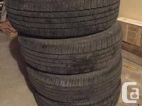 For sale brand new set of 4 All Seasons Tires