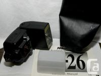 Selling my mint condition Nikon SB-26 flash! Barely