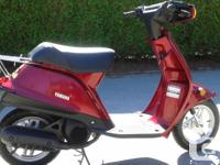 Make Yamaha Model Riva Year 1996 kms 3180 For sale is a