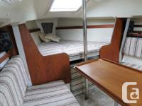Beautiful 1983 Mirage 25 foot sailboat for sale. Very