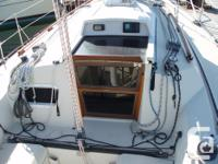 1989 Mirage 35 in excellent condition ;Sails in good
