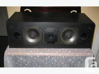 Nice quality Mirage Center Channel speaker, in good