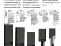 Mirage M-990, 3-Way, Ported, Bi-Polar Speakers
