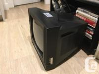 - Lightly used Colour T.V.- is in great condition ! -