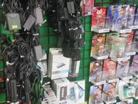 We have a bunch of loose cords, controllers and other