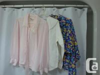 Gently Used Women's Clothing 2 Boxes - Blouses & Tops 2
