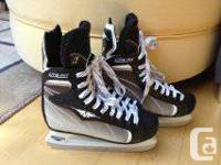 Size 4 Youth Hockey skates. Practically brand new!